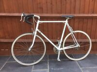 Raleigh vintage road racing bike reynolds 501 extra large frame