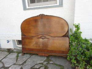 Charming  Antique (c1935) Double Bed - Original Condition
