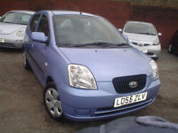 2005 Kia Picanto 1.0 GS+lovely colour+over 45 nice cars in stock!