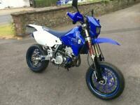 2008 (58) Suzuki DRZ 400 SM - K7 SuperMoto - Blue/ White - 34302 miles