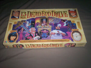 """""""13 DEAD END DRIVE"""" RARE BOARD-GAME by MB 100% COMPLETE"""