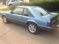 1986 Ford Mustang 5.0