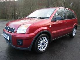 09/09 FORD FUSION 1.6 ZETEC CLIMATE AUTOMATIC 5DR HATCH IN MET RED