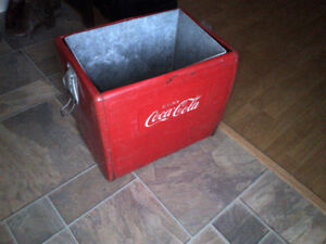 1960 COCA COLA ICE COOLER