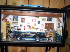 Auto Art Corvette with Diorama