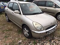 Daihatsu AUTOMATIC Sirion low miles excellent condition