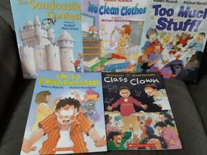 Books - Robert Munsch - Set 2 (5)