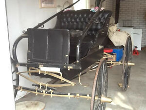 ANTIQUE BUGY, RESTORED to NEW CONDITION---NOW-$1200 Kingston Kingston Area image 4