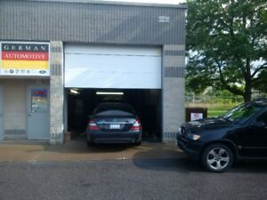 German Automotive Specialist Repairs garage now open!