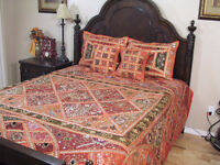 Stunning Duvet Cover and Pillows