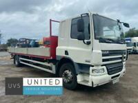 DAF TRUCKS CF65 220 2007 57 18 ton 26ft dropside truck manual
