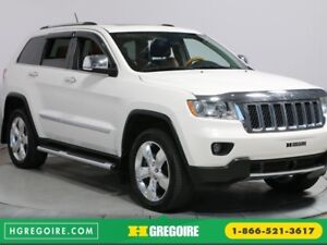2012 Jeep Grand Cherokee OVERLAND 4WD CUIR TOIT MAGS