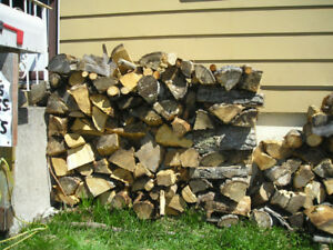 Firewood mixed & split ready to burn for heat or campfires