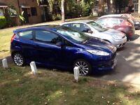 Ford Fiesta 65 plate cat D light damage.