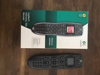 Logitech Harmony 700 Remote and Brite-view media player