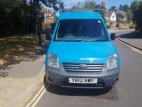 2012 Ford Transit Connect 1.8TDCi 90PS T230 LWB Blue 1 Owner From New Roof Racks