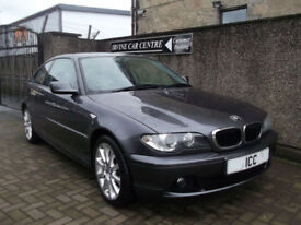 04 54 BMW 318CI COUPE SPORT SE 2.0 2DR LEATHER LOW MILEAGE ALLOYS CRUISE A/C