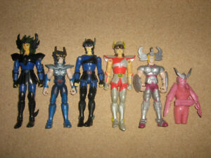 SAINT SEIYA / KNIGHTS OF THE ZODIAC FIGURE LOT