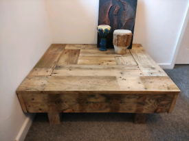 Coffee tables hand made in devon