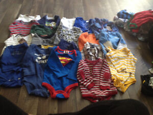 3-6 months boys lot with over 140 items Kitchener / Waterloo Kitchener Area image 2