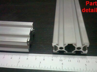 Aluminum T-slot Extruded Profile 20x40-6mm L100 200 300 400 Or 500mm -2pieces