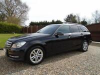 3K EXTRAS 2013 Mercedes Benz C CLASS C220 DIESEL ESTATE 170 MANUAL Executive SE