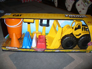 cool kid toys  tough tracks cat -- bull dozer and accessories..