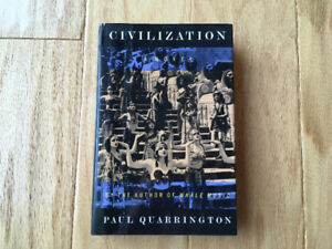 """Civilization"" by Paul Quarrington (1st Ed. Hardcover - 1994)"