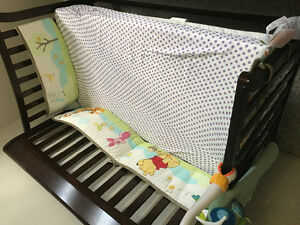 Baby crib and matress