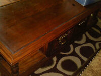 Free Wood Coffee Table - Pick Up in North West Calgary