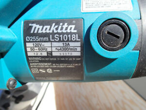 MAKITA 10 INCH SLIDING COMPOUND MITRE SAW WITH LASER