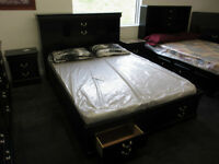 NEW STORAGE BEDS AVAILABLE IN WHITE, CHERRY AND BLACK