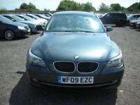 2009 09 BMW 5 SERIES 2.0 520D SE 4D AUTO 175 BHP DIESEL