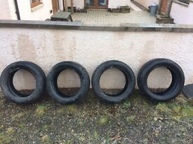 4 x BF Goodrich snow winter tyres 205 / 55 / r16