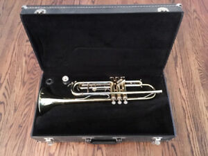 Blessing Trumpet and Case