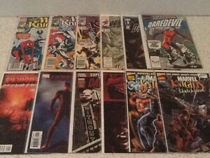30 various marvel comics, daredevil, punisher, ghost rider West Island Greater Montréal image 3