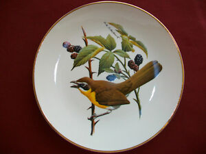 Collector song bird plate