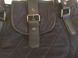 Sac à main BARBOUR Nylon & Cuir / Leather Purse $120