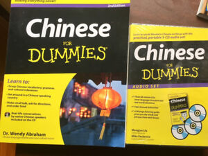 Chinese for Dummies - book and 3 CD audio set