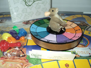 FITZ & FLOYD CHARMING TAILS MEMBER ONLY GAME WITH FIGURINE -NEW Cornwall Ontario image 3