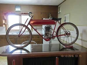 replica old motorcycle