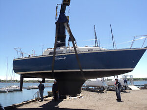 1980 Aloha 8.2 (27 foot) Sailboat with Yard Trailer and Diesel