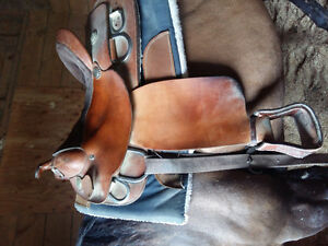 Training saddle