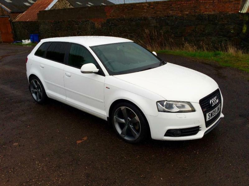 2009 audi a3 2 0 tdi black edition sportback 5dr in lochgelly fife gumtree. Black Bedroom Furniture Sets. Home Design Ideas