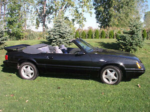 1986 Mustang convertible 3.8 liter v6