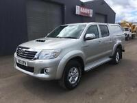 * SOLD * 2013 Toyota Hilux HL3 2.5D-4D Double Cab 4x4 Diesel Pickup * 93k *