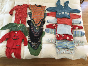 Boys onesies and pajamas 18-24 months