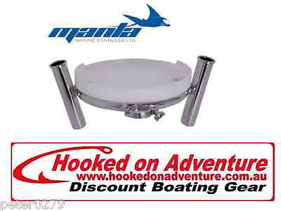 MANTRA Round Clamp-On Bait Station HOARWB1998 Pole Mount Manta Quality