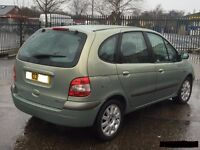 Renault Scenic wanted 1600 cc petrol or 2.0L diesel