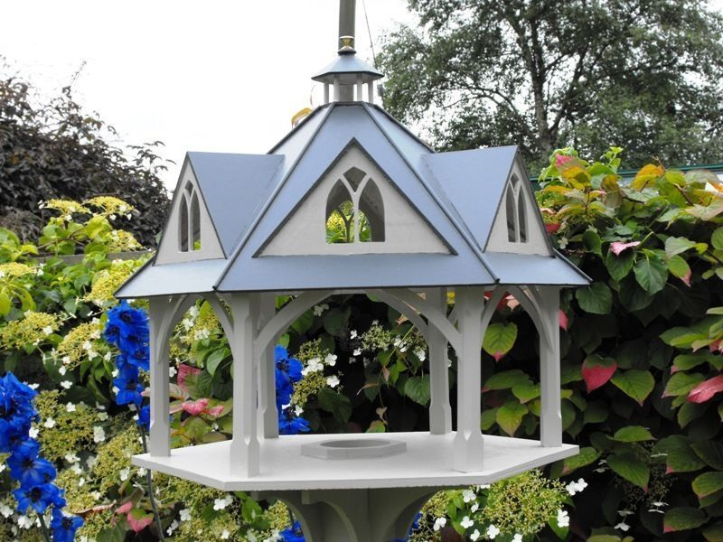How To Build A Bird Table With A Roof Ebay